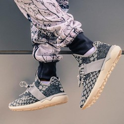 Giày thể thao nam Tubular Runner Primeknit Snake màu xám