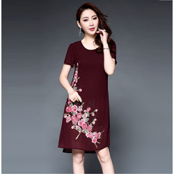 Đầm suông nữ cực quý phái DS398