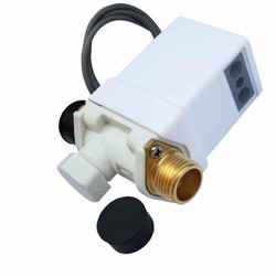 Bộ xả nước cảm ứng tự động dùng làm vòi rửa tay VAKS VXR, dùng điện 12V DC - Có adapter chuyển từ 220V sang 12V