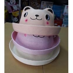 mũ gấu cho bé