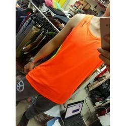 Áo 3 lỗ thun lạnh màu cam