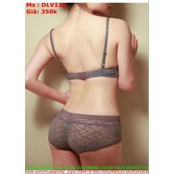 Sét bộ đồ lót nữ chất liệu ren cao cấp tạo vẻ quyến rũ DLV126