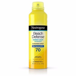 Kem chống nắng dạng xịt Neutrogena Beach Defense SPF 70