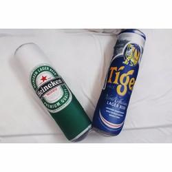 Gối ôm Lon Bia