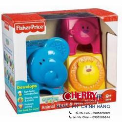 Bộ đồ chơi Xếp chồng động vật Fisher Price