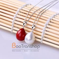 Mặt dây chuyền bạc nữ baotranshop  BTJ210