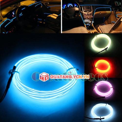 Worldmart đèn led xe hơi ô tô trang trí nội thất có jack mồi thuốc dài 5m