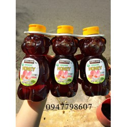 Mật ong Honey Bear Ogranic Kirkland 680g
