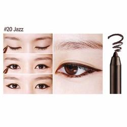 Gel kẻ mắt Bbia Last Auto Gel Eyeliner - #20 Jazz màu nâu đen