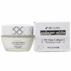 Kem Dưỡng Trắng Da Collagen 3W Clinic Collagen Whitening Cream