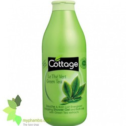 Sữa tắm dưỡng ẩm,trắng da Cottage Của Pháp 750ml