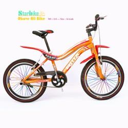 Xe đạp trẻ em - Căm 7 màu