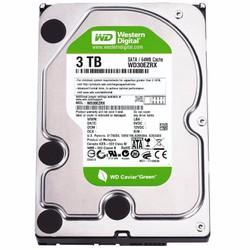 HDD WD Caviar Green 3TB, 64MB, SATA 3