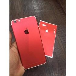 Miếng dán iPhone 5,6,7 màu đỏ hot nhất hiện nay