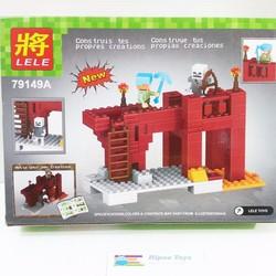 Lego xếp hình MY WORLD 123 pcs
