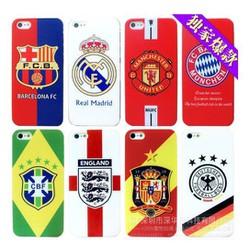 Ốp lưng hình bóng đá điện thoại iphone 5,5s