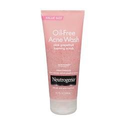 SRM Neutrogena Oil Free Acne Wash Pink Grapefruit Foaming Scrub