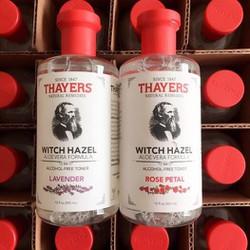 Nước hoa hồng Thayers Witch Hazel Aloe Vera Formula Alcohol-Free Toner