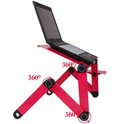 Bàn Để Laptop Xoay 360 Độ - Tinh Tế Hiện Đại Có quạt tản nhiệt