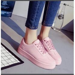 Giày bata da trơn cổ ngắn VS2