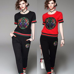 Hàng nhập cao cấp -  Set áo thun họa tiết quần dài