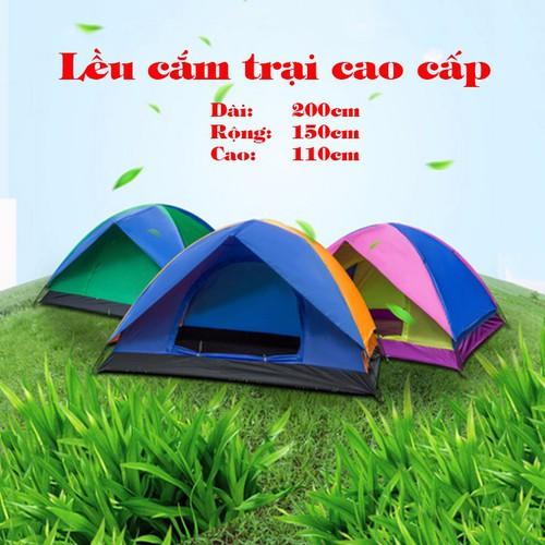 Lều cắm trại cao cấp - Sử dụng cho 2 - 3 người