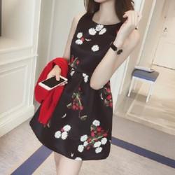 Váy xòe in hoa Fashion House HCM