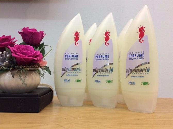 Sữa tắm chống lão hóa cá ngựa Algemarin Perfume  Đức 1