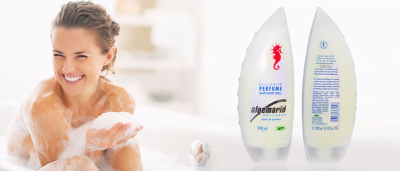 Sữa tắm chống lão hóa cá ngựa Algemarin Perfume  Đức 3