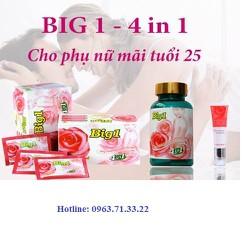Thuốc nở ngực - Big1 4 trong 1 của Sao Thái Dương