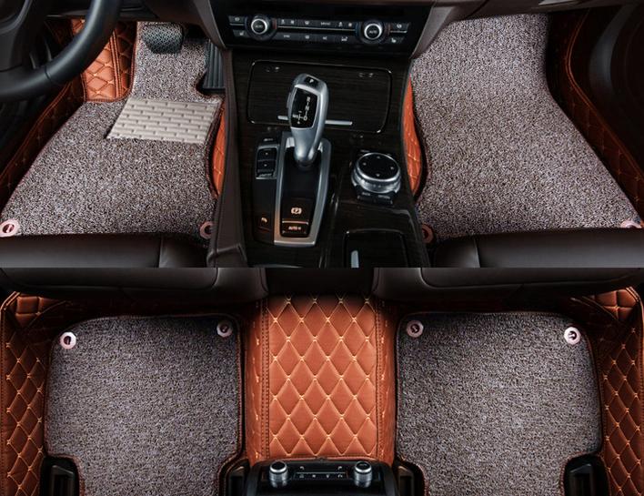Thảm lót sàn 5D 2 tầng cho xe 5 chỗ 3