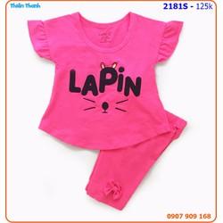 SIZE ĐẠI_Bộ mặc nhà Laphin xinh xắn và nhí nhảnh cho bé yêu