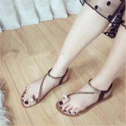 Giày sandal xỏ ngón nơ