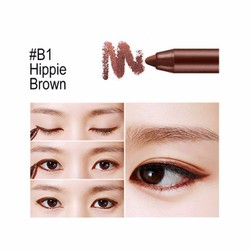 Bbia Last Auto Gel Eyeliner Bohemian Edition – #B1 Hippie Brown