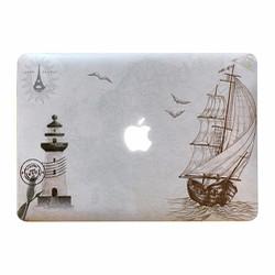 Ốp Macbook Air , Pro thuyền viễn xứ 11, 12,13,15 inch