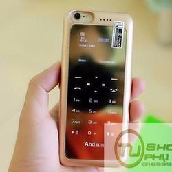 Pin sạc dự phòng kiêm ốp lưng kiêm điện thoại Andsun cho iPhone 6