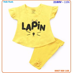 Bộ mặc nhà Laphin xinh xắn và nhí nhảnh cho bé yêu