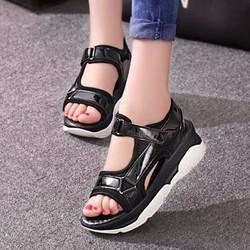 Giày sandal đế bánh mì S047D