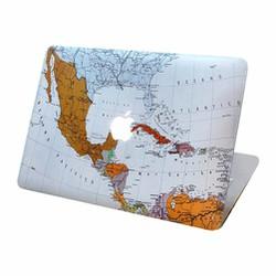 Ốp hình bản đồ thế giới cho Macbook Pro 13 inch
