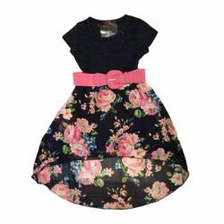 Váy Đầm hoa xoè xinh xắn dành cho bé gái