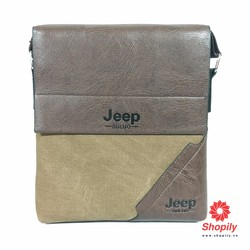 Túi đeo chéo Ipad Jeep-Buluo da pha dù cao cấp