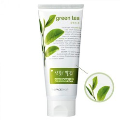 Sữa Rửa Mặt THE FACE  Green Tea