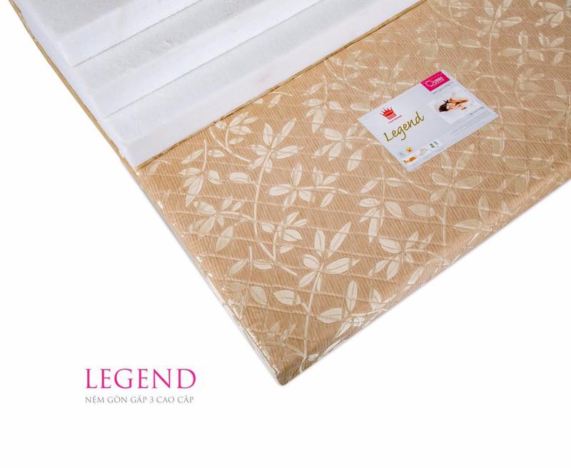Tủ Nhựa Duy Tanvn Nệm Vạn Thành Bông ép Legend 1m 2m 5cm Vải Gấm