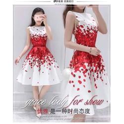 Đầm xòe cánh hoa siêu xinh