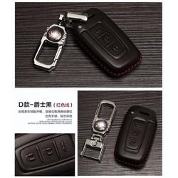 Bao da bọc chìa khóa ô tô Kia mẫu D