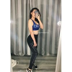 Set thể thao áo croptop quần dài