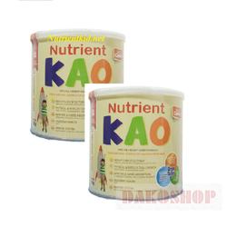 Bộ 2 lon Nutrient Kao 700g