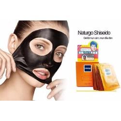 Combo 20 gói mặt nạ bùn lột mụn Naturgo Shiseido Nhật Bản