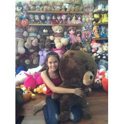 Thú nhồi bông Gấu Brown 95cm