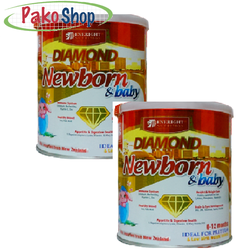 Sữa Diamond Newborn baby 400 - Cho trẻ sinh non, nhẹ cân